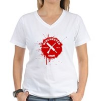 Winchester Arms Women's V-Neck T-Shirt