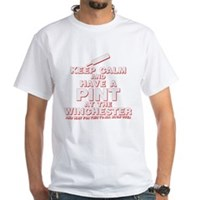Keep Calm And Have A Pint White T-Shirt