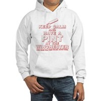Keep Calm And Have A Pint Hooded Sweatshirt