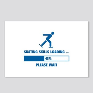 Skating Skills Loading Postcards (Package of 8)