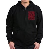 Shaun Of The Dead Montage Zip Hoodie (dark)