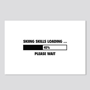 Skiing Skills Loading Postcards (Package of 8)