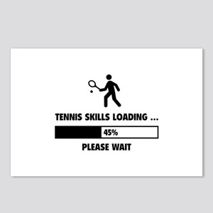 Tennis Skills Loading Postcards (Package of 8)