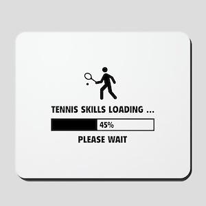 Tennis Skills Loading Mousepad