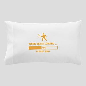Tennis Skills Loading Pillow Case
