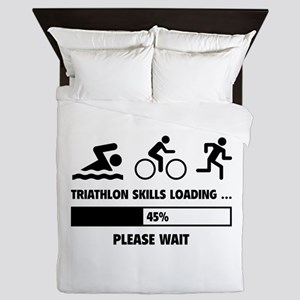Triathlon Skills Loading Queen Duvet