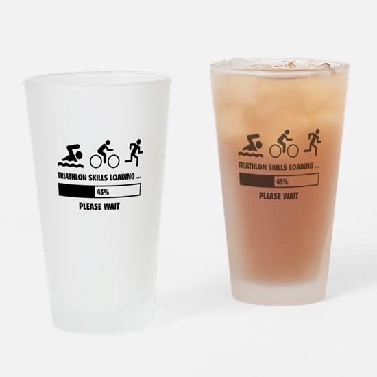 Triathlon Skills Loading Drinking Glass