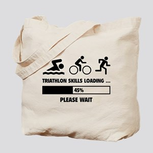 Triathlon Skills Loading Tote Bag