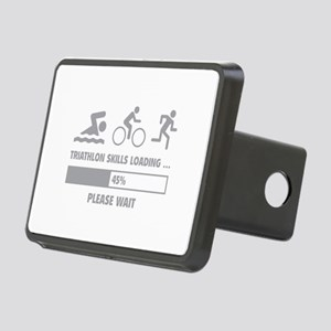 Triathlon Skills Loading Rectangular Hitch Cover
