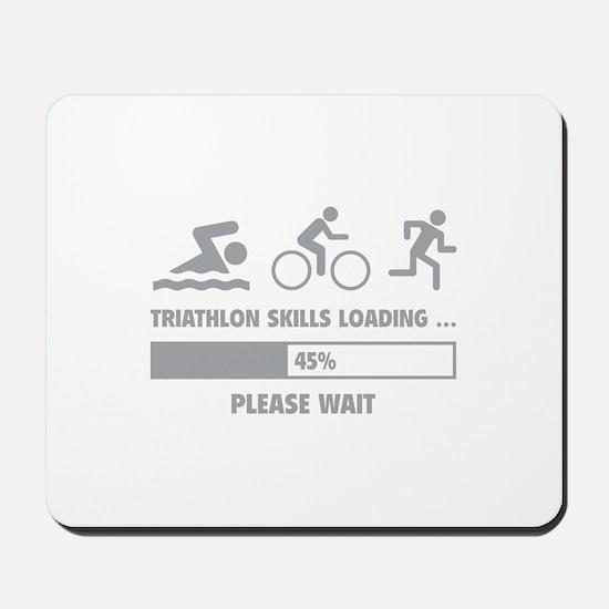 Triathlon Skills Loading Mousepad