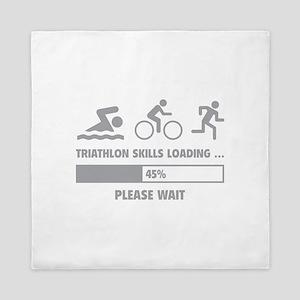 Triathlon Skills Loading Queen Duvet