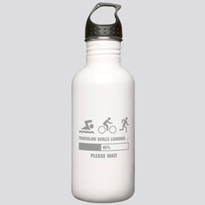 Triathlon Skills Loading Stainless Water Bottle 1.