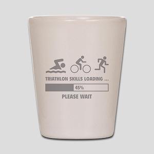 Triathlon Skills Loading Shot Glass