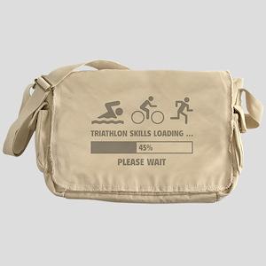 Triathlon Skills Loading Messenger Bag