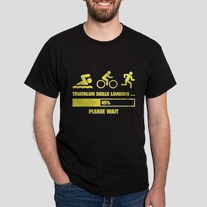 Triathlon Skills Loading Dark T-Shirt