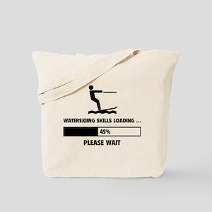Waterskiing Skills Loading Tote Bag