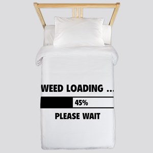 Weed Loading Twin Duvet