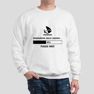 Windsurfing Skills Loading Sweatshirt