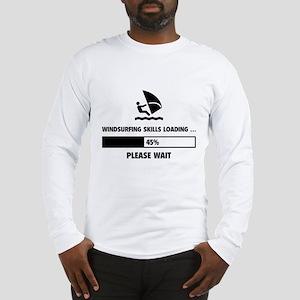 Windsurfing Skills Loading Long Sleeve T-Shirt
