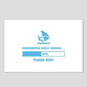 Windsurfing Skills Loading Postcards (Package of 8