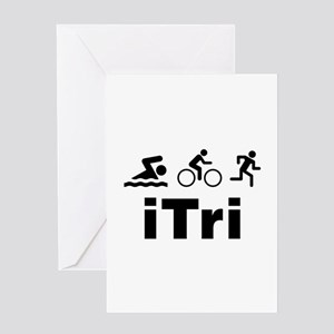 iTri Greeting Card