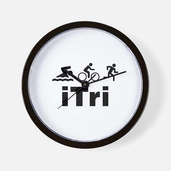 iTri Wall Clock