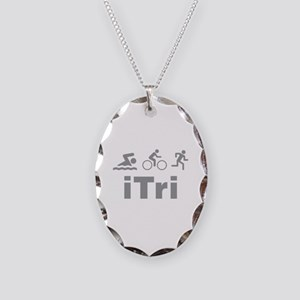 iTri Necklace Oval Charm