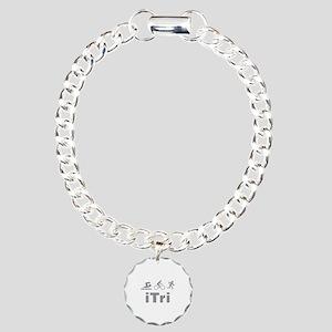 iTri Charm Bracelet, One Charm