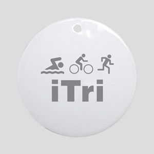 iTri Ornament (Round)