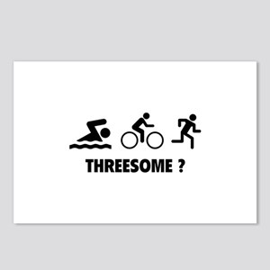 Threesome ? Postcards (Package of 8)