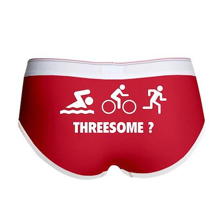 Threesome ? Women's Boy Brief