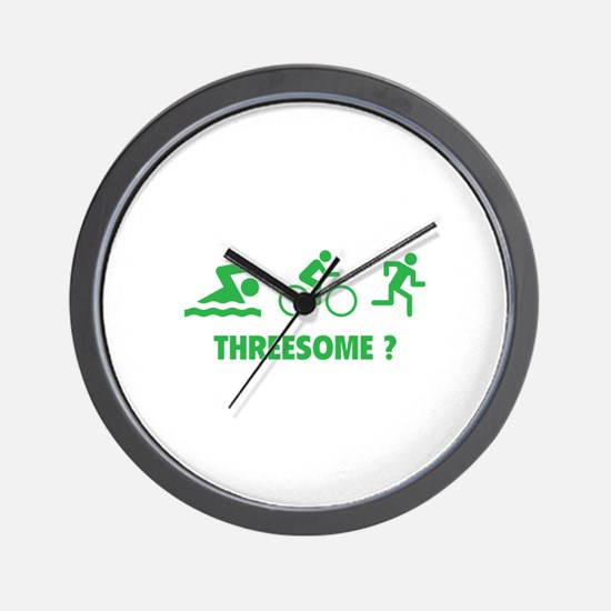 Threesome ? Wall Clock