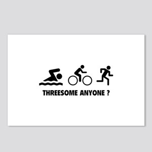 Threesome Anyone ? Postcards (Package of 8)
