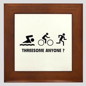 Threesome Anyone ? Framed Tile