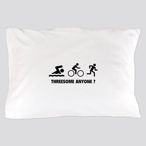 Threesome Anyone ? Pillow Case
