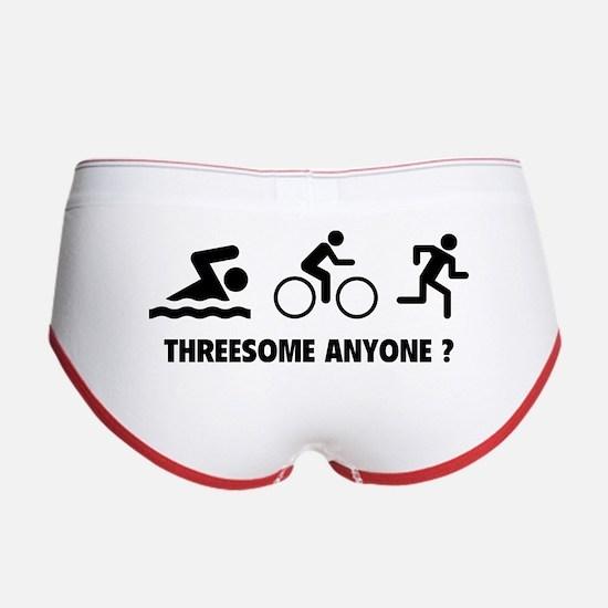 Threesome Anyone ? Women's Boy Brief