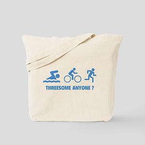 Threesome Anyone ? Tote Bag