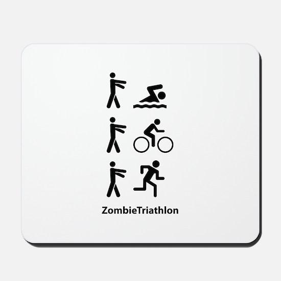 ZombieTriathlon Mousepad
