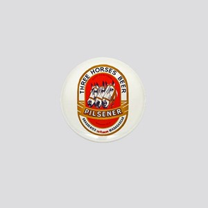 Madagascar Beer Label 1 Mini Button