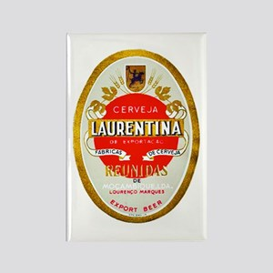 Mozambique Beer Label 1 Rectangle Magnet
