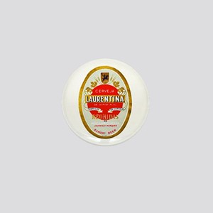 Mozambique Beer Label 1 Mini Button