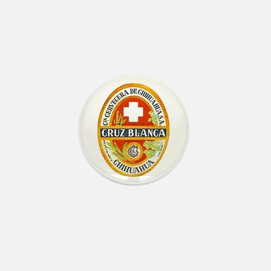 Mexico Beer Label 4 Mini Button