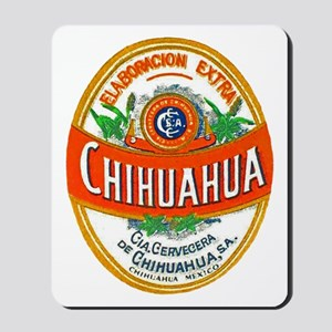Mexico Beer Label 1 Mousepad
