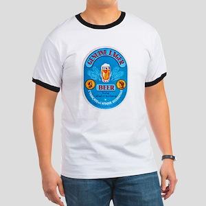 Ivory Coast Beer Label 4 Ringer T