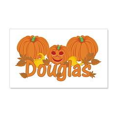 Halloween Pumpkin Douglas Wall Decal