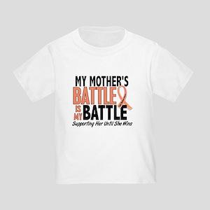 My Battle Too Uterine Cancer Toddler T-Shirt