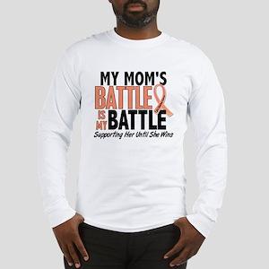 My Battle Too Uterine Cancer Long Sleeve T-Shirt