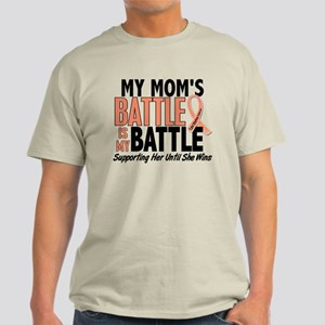 My Battle Too Uterine Cancer Light T-Shirt