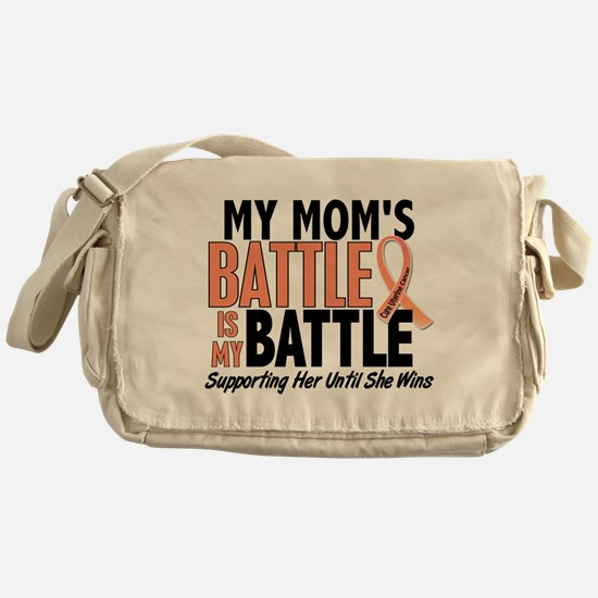 My Battle Too Uterine Cancer Messenger Bag