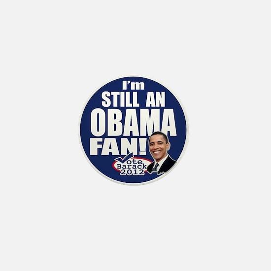 Obama Fan 2012 Mini Button
